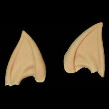 2 Pointed Elven Elf  Ears Halloween Foam Latex Ear Prosthetic Appliance Costume