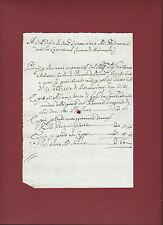 Comune di Bondanello 1710 Nota di Debito
