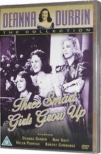 Deanna Durbin Three Smart Girls Grow Up DVD 1940s Film