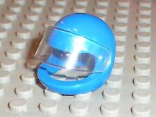 Casque minifig LEGO TECHNIC Blue Figure Helmet ref 2715 / Set 8286 8230 8223 ...
