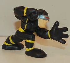 "2007 Black Yellow Cyclops Scott Summers 2"" Marvel X-Men Hasbro Super Hero Squad"