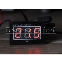 DC 15-120V Waterproof Digital voltmeter Voltage meter Voltmeter For Electric car