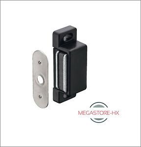 Magnetschäpper schwarz Schnapper Möbelmagnet Türmagnet Magnet Magnetschnapper