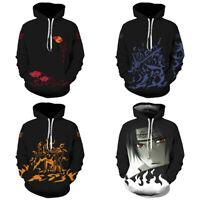 Naruto0 Hoodie Women/Men Sweatshirt 3D Print Hooded Pullover Coat Casual Jacket