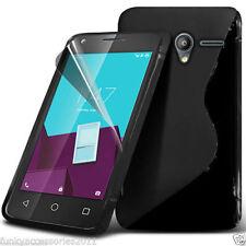 Étuis, housses et coques en silicone, caoutchouc, gel pour téléphone mobile et assistant personnel (PDA) Alcatel