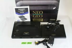 NEO GEO AES ROM Console System box pro pow 3 Japan tested Controller  B6A