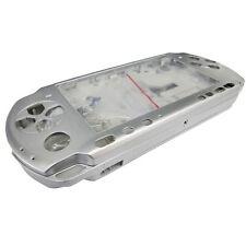 Sliver Full Housing Shell Faceplate Case for PSP 3000 Slim&Lite