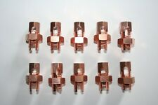 ALLIED BOLT ALL COPPER Split Bolt (Size S-4) NEW LOT OF 10
