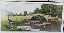 Heritage stitchcraft cross stitch kit Fly Fishing by John Clayton collection