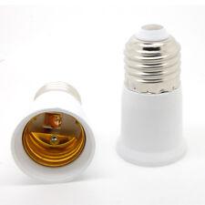 New E27 to E27 Extension CLF LED Light Bulb Lamp Adapter Base Converter