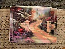 Spring Gate By Thomas Kinkade Plate Bradford Exchange 1999 3680A