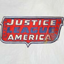 Justice League of America Big Logo Embroidered Patch Super Powers Comic Friends