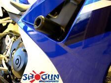 Suzuki 2007-2008 GSXR1000 GSXR-1000 Shogun Frame Sliders Black - No Cut Version