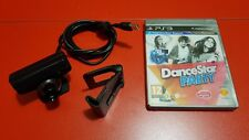 Ps3 move eye camera + Tv clip + Ps3 Dance Star Party game