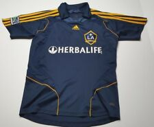 LA Galaxy Beckham #23 Adidas Herbalife Blue Soccer Jersey Adult S Youth L