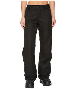Volcom Frochickie Insulated Womens Snowboard Snow Ski Pants Black XS Med Lrg