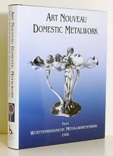 ART NOUVEAU DOMESTIC METALWORK Jugendstil WMF Marks Household Metalware ACC New