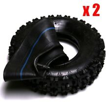 """2x 4.10 - 6"""" inch Knobby Tyre Tire ATV QUAD Bike Gokart Scooter Dune Buggy Mower"""