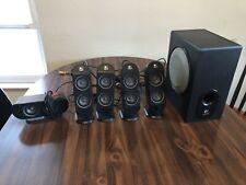 Logitech X-530 Speaker System - 5.1 Dolby Digital PC Surround Sound w Subwoofer