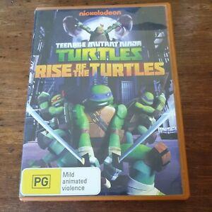 Teenage Mutant Ninja Turtles Rise of the Turtles DVD R4 Like New! FREE POST