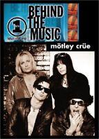 MOTLEY CRUE VH1 BEHIND THE MUSIC DVD ratt poison guns roses kiss leppard jovi dc