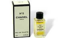 """CHANEL - """"No 5"""" Perfume Miniature Vial 4ml EDT Eau De Toilette With Box"""