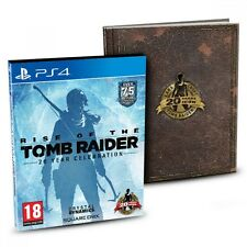 Rise of the Tomb Raider 20 años celebración Limited Edition PS4 Juego (Pro ENH..