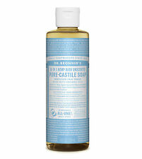 DR bronner's Orgánico Bebé Suave Castile jabón líquido (237ml) - Natural