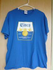 Cinco Corona Blue Promo T Shirt Large