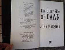 JOHN MARSDEN ~ THE OTHER SIDE OF DAWN ~ THE TOMORROW SERIES 1999 HC/DJ