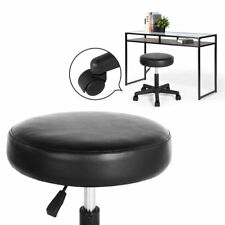 Tabouret noir Chaise réglable Chaise de bureau pivotante