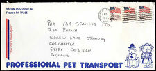 USA 1991 Commercial Cover To England #C30818