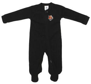 Outerstuff NFL Infants Cincinnati Bengals Blanket Sleeper Coverall