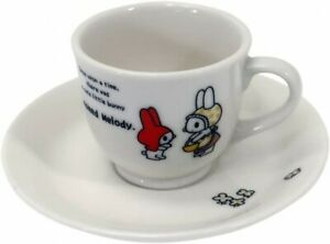 Sanrio My Melody Red Riding Hood Demitasse Cup & Saucer Porcelain Japan Limited