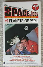 Space 1999 Planets of Peril (Year 2 #1) Michael Butterworth Pb 1st Warner