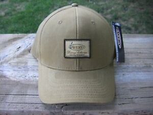 Avery Heritage Collection HUSK Oil Cloth Waterfowl Equip Hat Greenhead Gear Cap