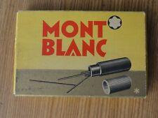 Montblanc Minen Schachtel