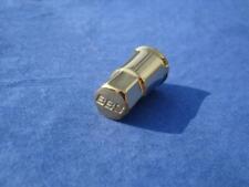 4x BBS Ventilkappen Alu vergoldet 09.15.063 für Gummi Ventile Speedline Gold NEU