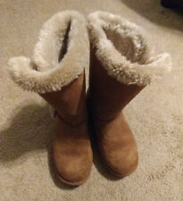 Girls, Airwalk, Boots, Shoes, Youth, Tan/Brown, Size 6.5