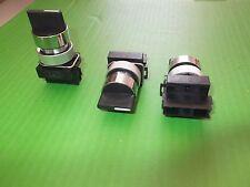 Interruptor Selector 3 posiciones Resorte Retorno a 1 lado 22.5 mm ER541500 X 1 Ono