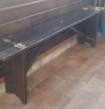 panca in legno antica stabilimento balneare vintage panche seduta