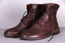 OFFICINE CREATIVE Mens Sz 42,5-43 Brown Leather Ankle Boots formal shoes