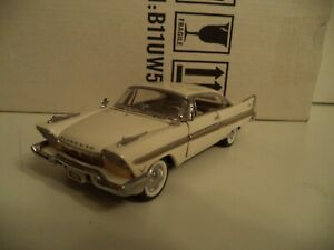 FRANKLIN MINT PLYMOUTH FURY 1957  1/43RD   IN  BOX