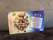 Point CARTE NINTENDO VIP Mario Party 5 Nintendo Gamecube GC