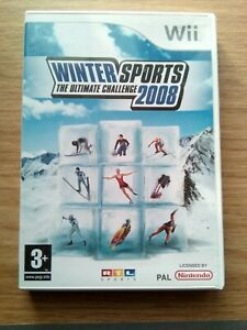 Winter Sports: The Ultimate Challenge 2008 (Nintendo Wii, 2007)