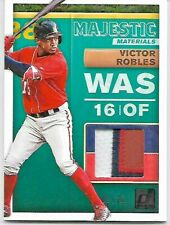 RARE Short Printed Victor Robles Majestic Materials Card Numbered 9/10