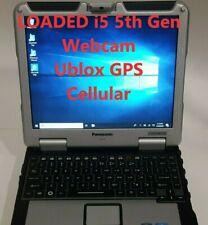 Build you own Panasonic Toughbook WEBCAM GPS CF-31 mk5 i5-5300 Windows 10 Gobi5k