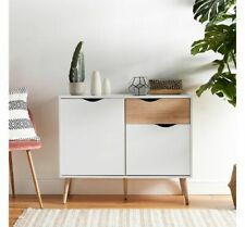 NEW Home Furniture Side Boards Storage Cabinet White Small Sideboards Cupboard