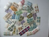 Large Lot of (38) Miscellaneous NUMBERED Plate Block Stamps, 1940-1960 MNH, Gift