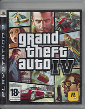 GRAND THEFT AUTO IV (4) for Playstation 3 PS3 - with box, manual & map